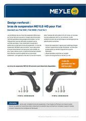 bras de suspension MEYLE-HD pour Fiat