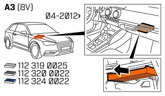 ORIGINAL MEYLE INNENRAUMFILTER AUDI VW SEAT SKODA 112 319 0001