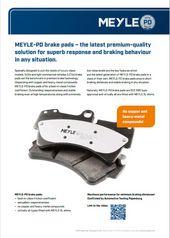 MEYLE-PD brake pads