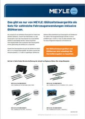 MEYLE-Glühzeitsteuergeräte-Satz für Mercedes