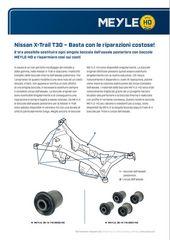 Nissan X-Trail T30 – Basta con le riparazioni costose!