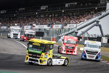 Podium position for Sascha Lenz at the Truck Grand Prix