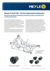 Nissan X-Trail T30 - Fini les réparations coûteuses!