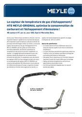 Le capteur de température de gaz d'échappement/ HTS MEYLE-ORIGINAL