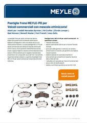 Pastiglie freno MEYLE-PD per Veicoli commerciali
