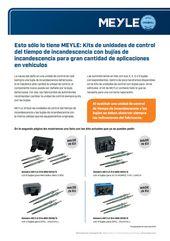 Kits de unidades de control del tiempo de incandescencia para Mercedes-Benz