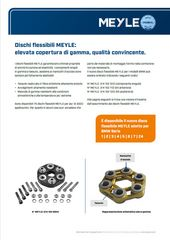 Dischi flessibili MEYLE: elevata copertura di gamma, qualità convincente.