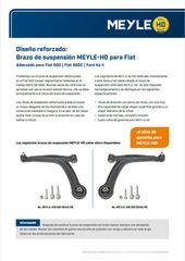 Brazo de suspensión MEYLE-HD para Fiat