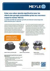 supports moteur MEYLE