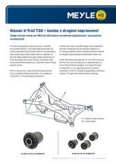 Nissan X-Trail T30 – koniec z drogimi naprawami!