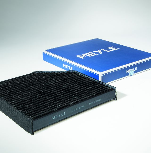 Protection against NOx and fine dust: the new MEYLE-PD cabin air filter keeps the air clean inside the vehicle