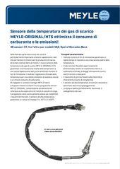 Sensore della temperatura dei gas di scarico MEYLE-ORIGINAL/HTS