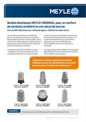 Butées élastiques MEYLE-ORIGINAL pour un confort de conduite amélioré et une sécurité accrue