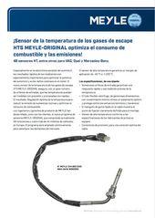 Sensor de la temperatura de los gases de escape HTS MEYLE-ORIGINAL