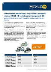3 supporti motore MEYLE-HD sostutiscono 6 componenti OE!