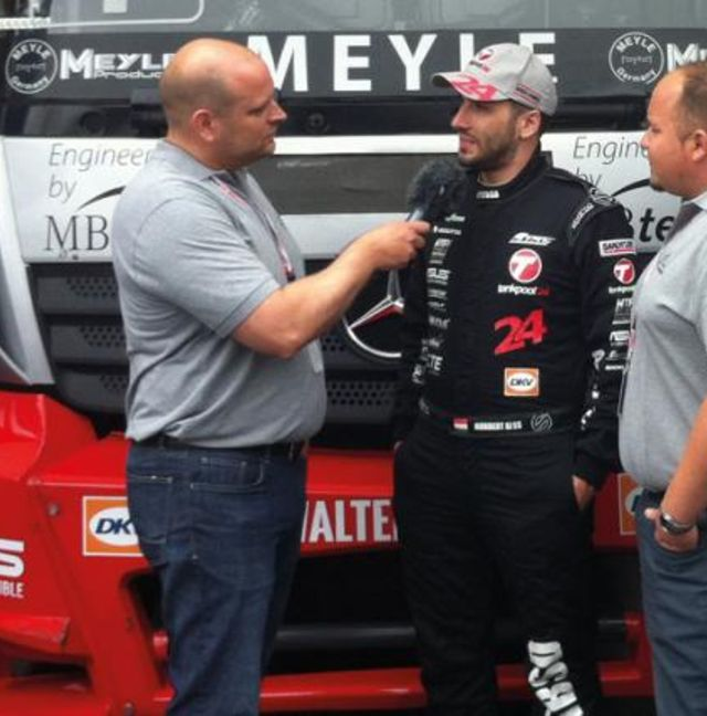"""The """"MEYLE Mechanics"""" on a road trip to the Nürburgring Truck Race event"""