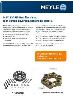 MEYLE-ORIGINAL flex discs