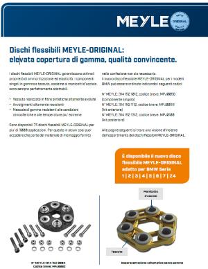 Dischi flessibili MEYLE-ORIGINAL
