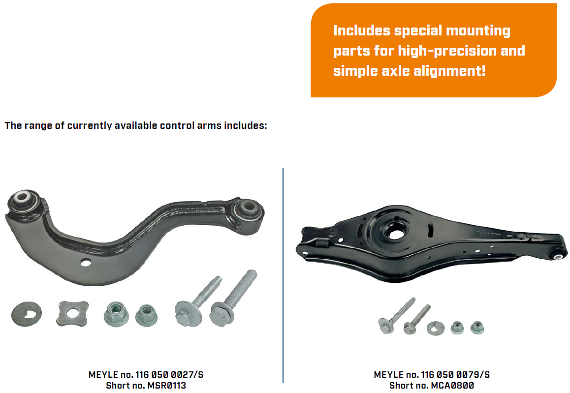 MEYLE-ORIGINAL control arm