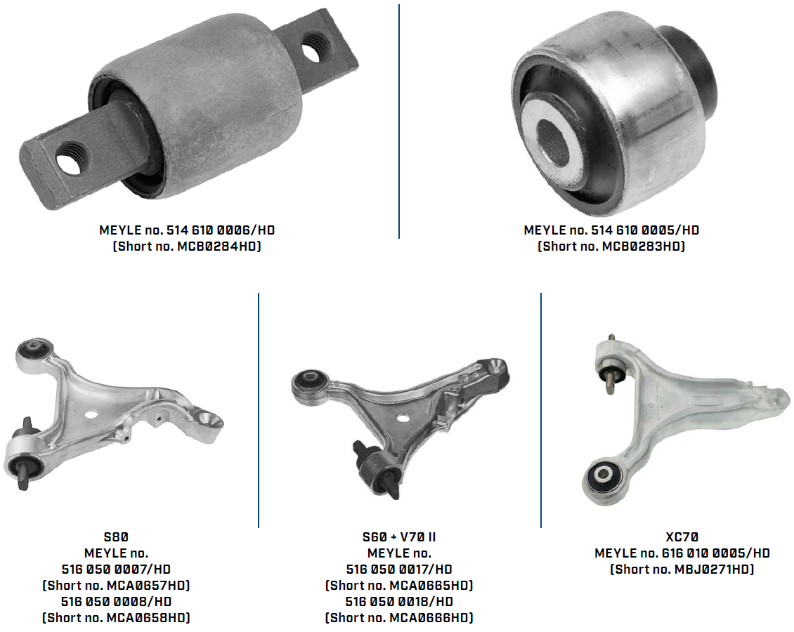 MEYLE-HD Control Arm Bushings