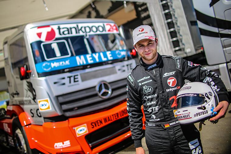 I supporti motore Meyle per veicoli commerciali debuttano nelle competizioni truck