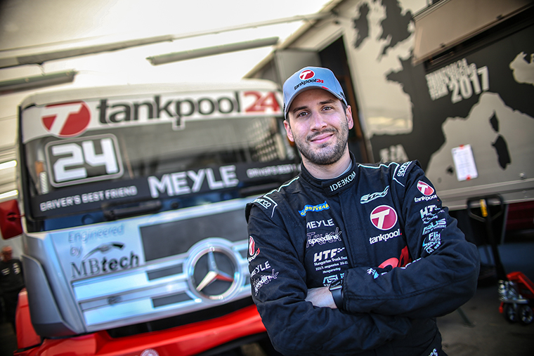 """Questions and answers with """"tankpool24"""" pilot Norbert Kiss: """"Our goal for 2017? To finish among the top 3 teams"""""""