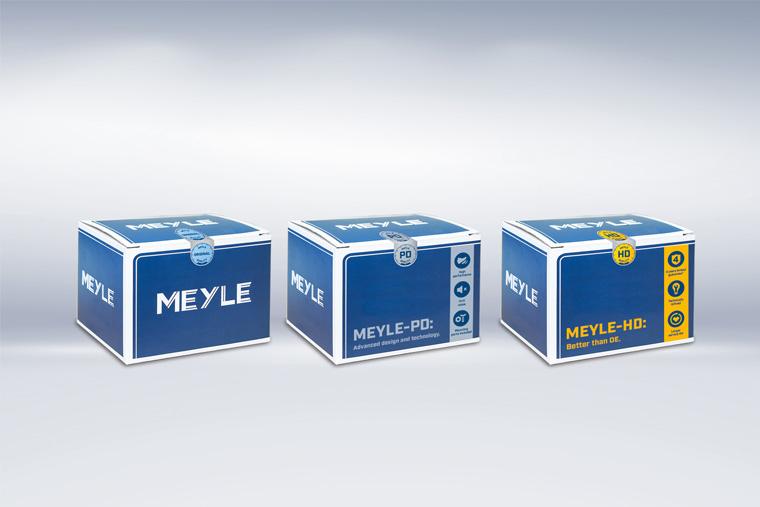 所有MEYLE部件都采用新的包装设计