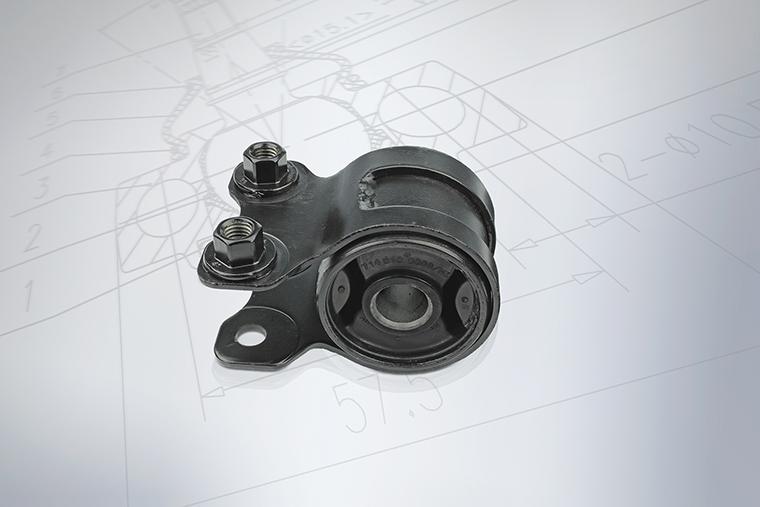 MEYLE 514 610 0006//HD Qualität Querlenker-Lager Querlenker Buchse 5146100006HD
