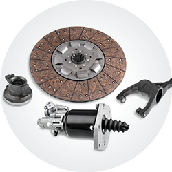 Trucks drive system clutch and transmission components