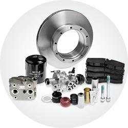 Trucks brake components