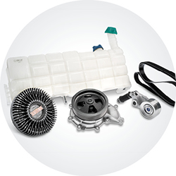 Trucks engine and cooling parts