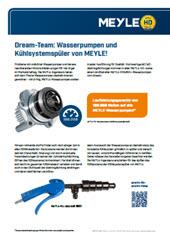 Dream-Team: Wasserpumpen und Kühlsystemspüler von MEYLE!
