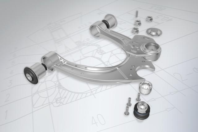 "The ""MEYLE Mechanics"" advice: One universally designed MEYLE-HD BMW control arm fits three different original designs"