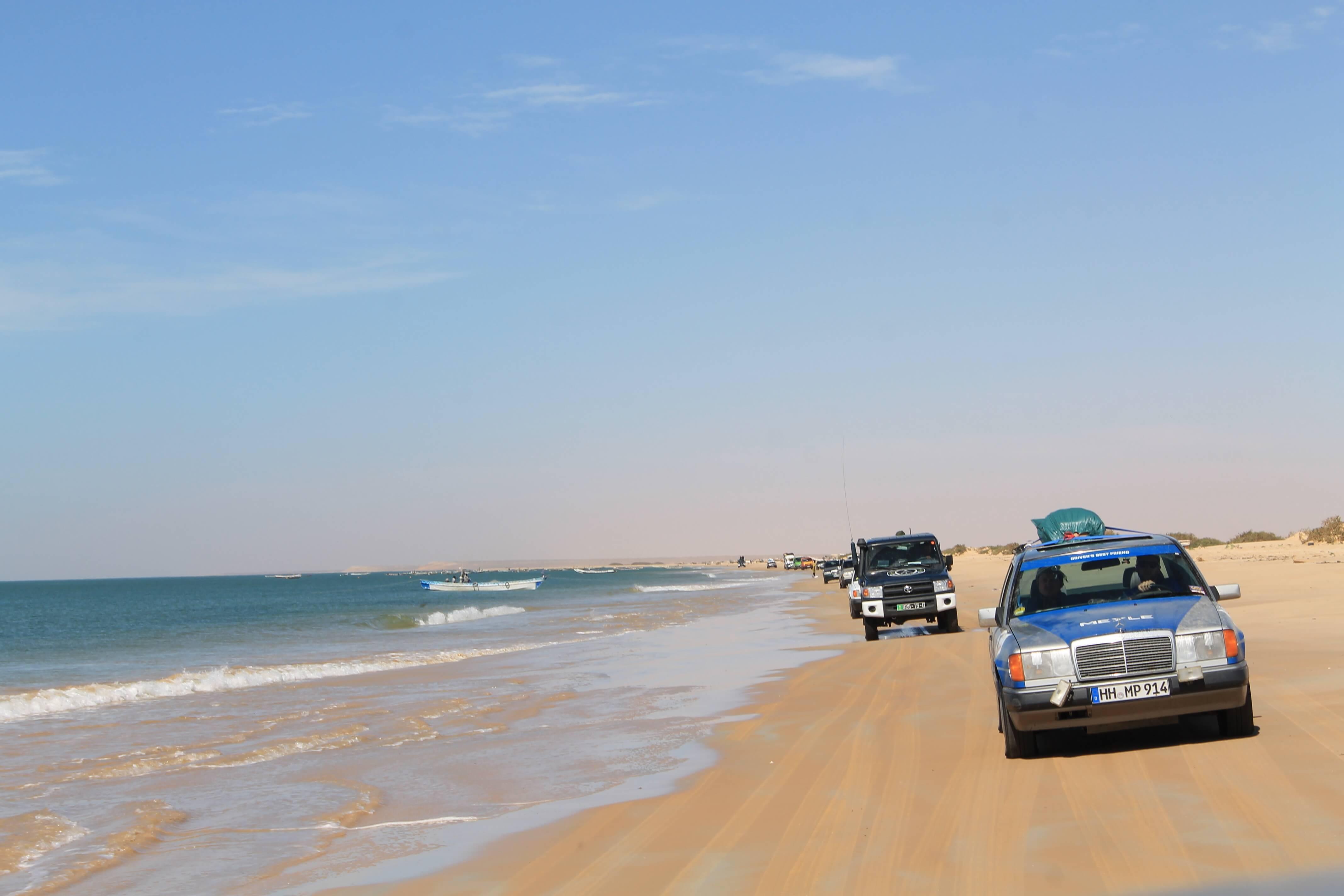 "From Spain to West Africa in 16 days – MEYLE trainee Niklas Arndt shares his ""Dust & Diesel"" rally adventure"