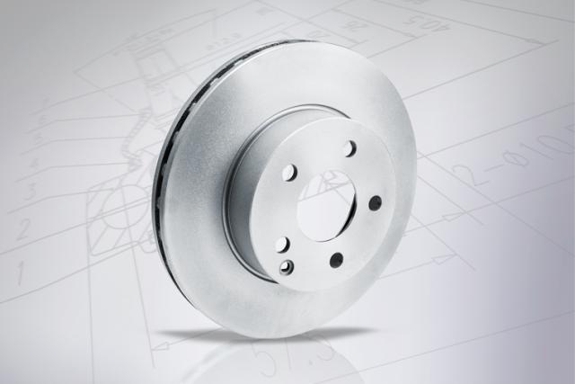 Brilliant braking solution: The MEYLE Platinum Disc with UV paint finish